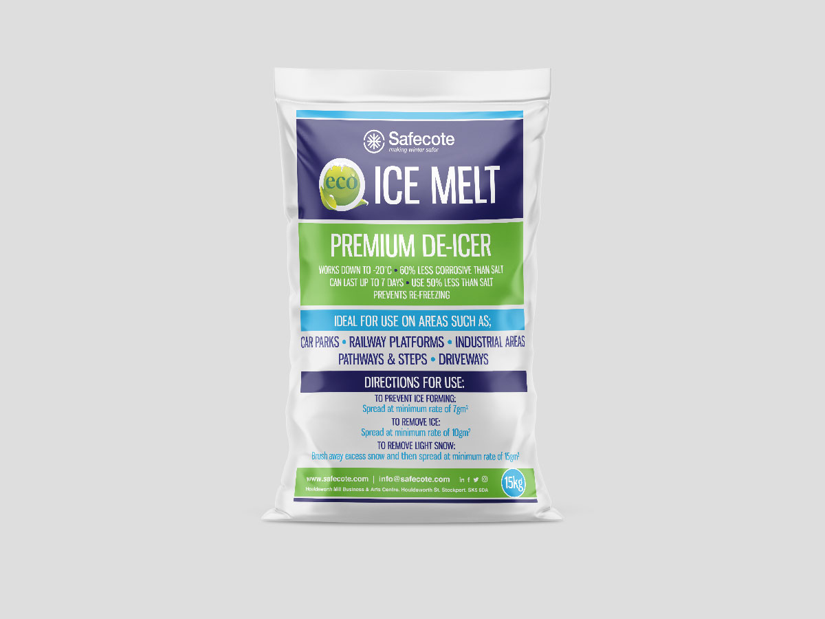 Eco Ice Melt - Solid De-Icer