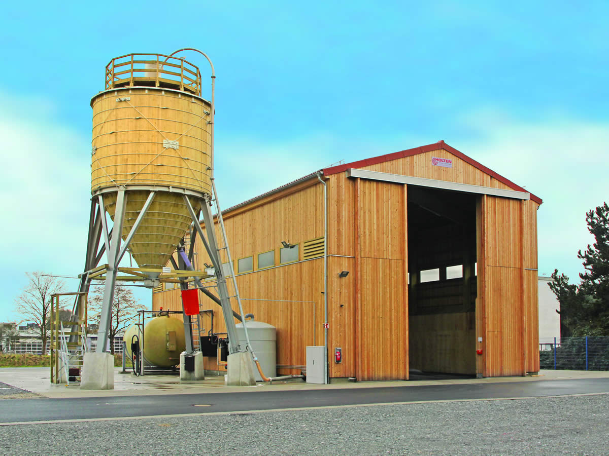 Holten Salt Storage Solutions