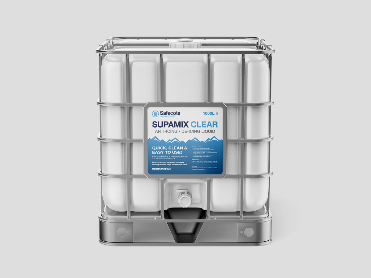 Supamix CLEAR Liquid De-Icer